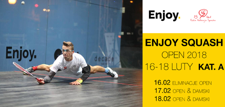 Enjoy Squash Open 2018