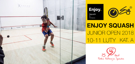 Eye Rackets & Enjoy Squash Junior Open 2018